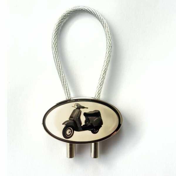 Vespa Cosa Motorrad Schlüsselanhänger mit Gravur