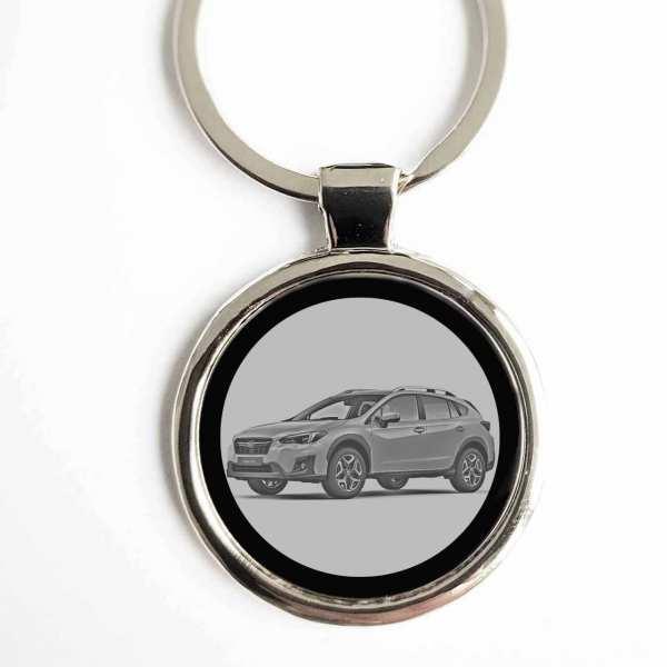 Subaru XV 2017 Gravur Schlüsselanhänger personalisiert