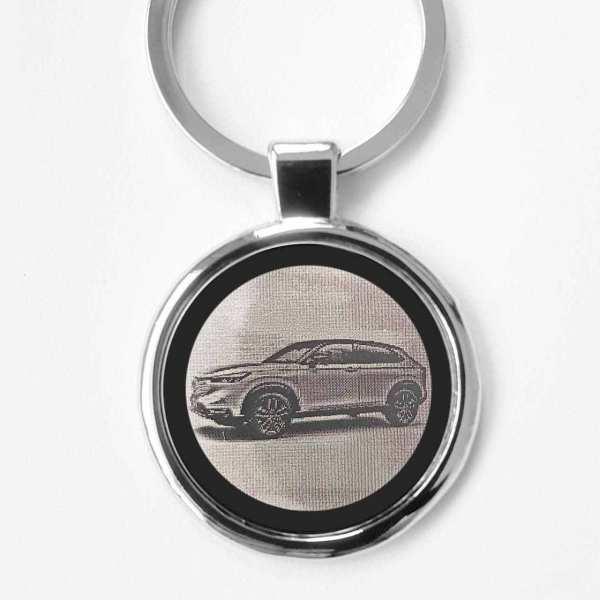 Honda HR-V 2021 Gravur Schlüsselanhänger personalisiert - original Fotogravur