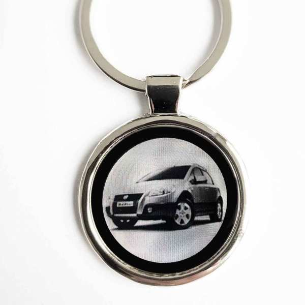 Fiat Sedici Gravur Schlüsselanhänger personalisiert - original Fotogravur