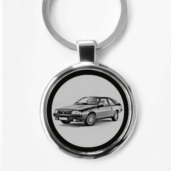 Renault Fuego Schlüsselanhänger personalisiert