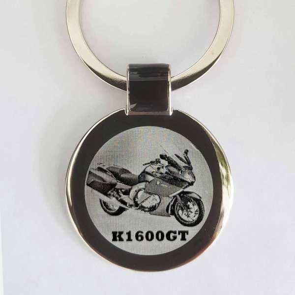 BMW K1600GT Schlüsselanhänger personalisiert - original Fotogravur