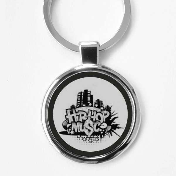 Hip Hop Music Gravur Schlüsselanhänger mit Gravur personalisiert