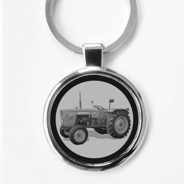 Fiat 315 Traktor Schlüsselanhänger personalisiert