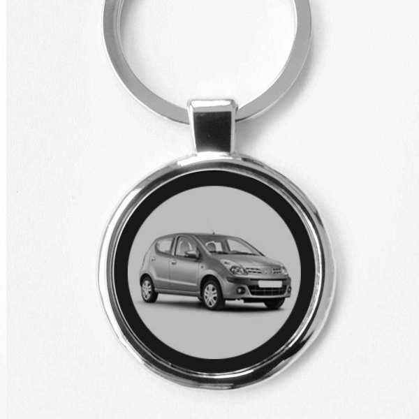 Nissan Pixo Schlüsselanhänger personalisiert