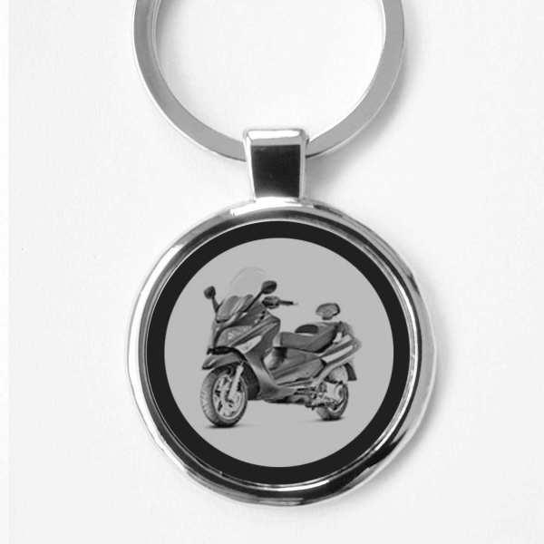 Piaggio Xevo Roller Schlüsselanhänger personalisiert mit Gravur