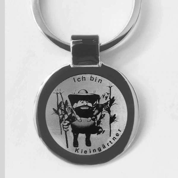 Kleingärtner Gravur Schlüsselanhänger personalisiert