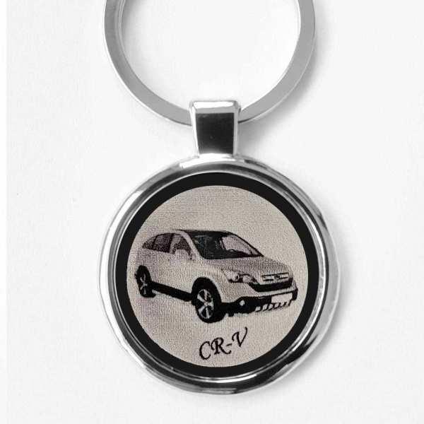 Honda CR-V Gravur Schlüsselanhänger personalisiert - original Fotogravur