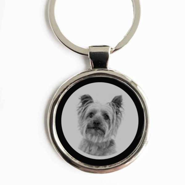 Terrier Hund Gravur Schlüsselanhänger personalisiert
