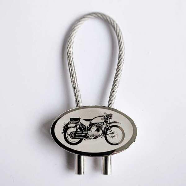NSU Supermax Gravur Schlüsselanhänger personalisiert - original Fotogravur