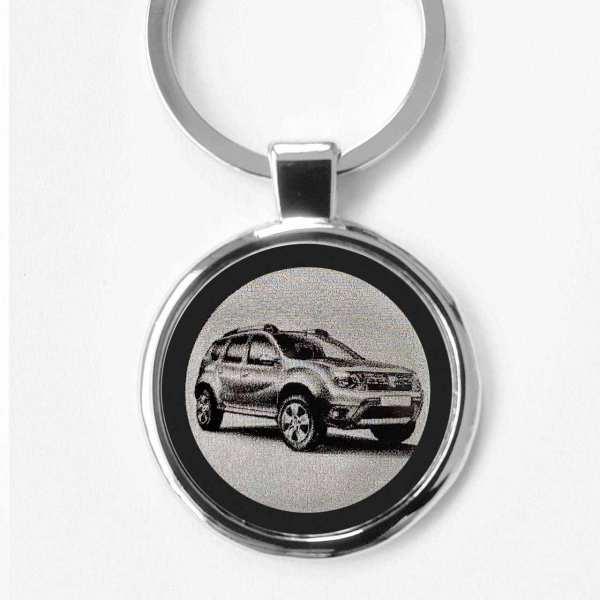 Dacia Duster 2014 Gravur Schlüsselanhänger personalisiert - original Fotogravur