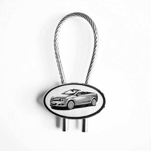 Opel Astra TwinTop Gravur Schlüsselanhänger personalisiert - original Fotogravur
