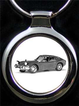 Toyota 2000 Gravur Schlüsselanhänger