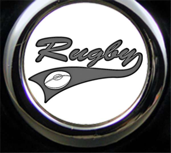 Rugby Gravur Schlüsselanhänger personalisiert