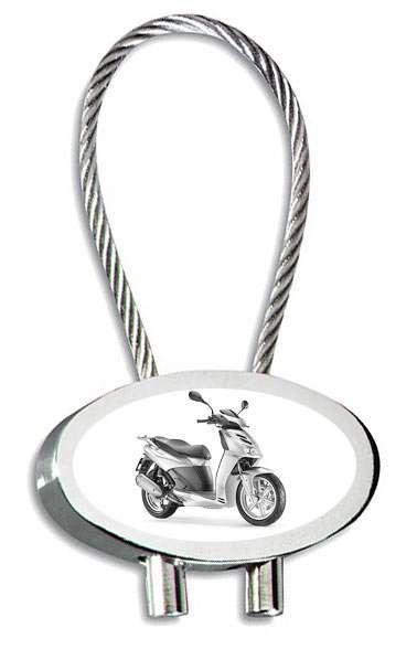 Aprilia Cube Motorrad Schlüsselanhänger mit Gravur