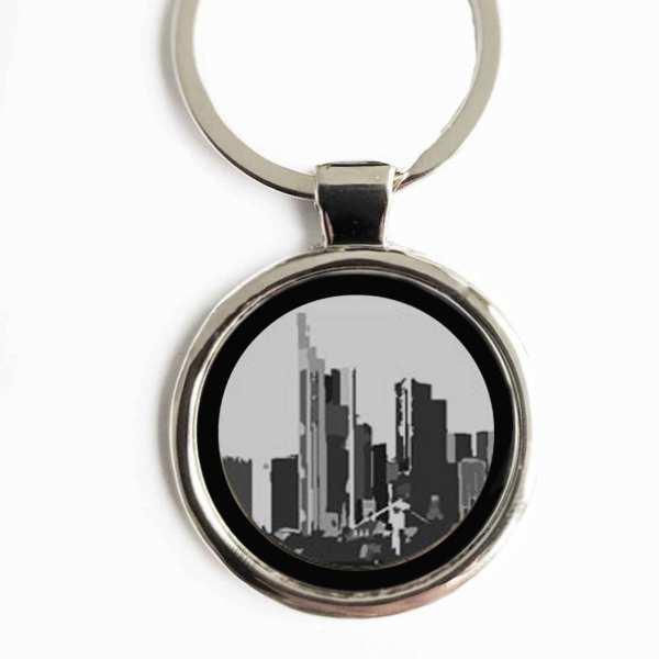 Frankfurt am Main Gravur Schlüsselanhänger personalisiert