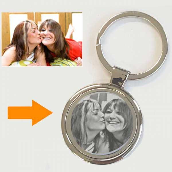 Schlüsselanhänger personalisiert mit Foto