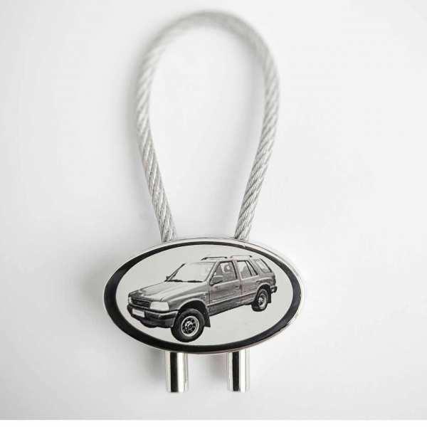 Opel Frontera Gravur Schlüsselanhänger personalisiert - original Fotogravur