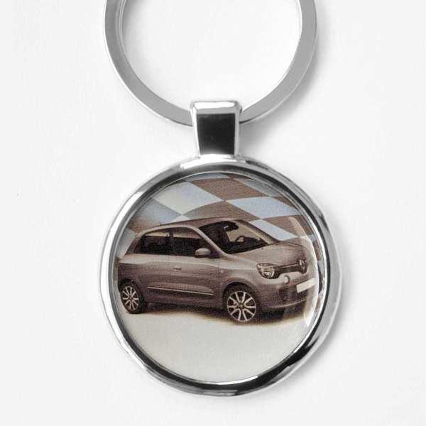 Renault Clio 2019 Schlüsselanhänger personalisiert mit Gravur