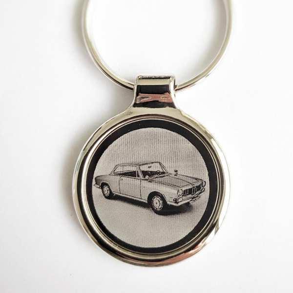 BMW 3200 Gravur Schlüsselanhänger - original Fotogravur