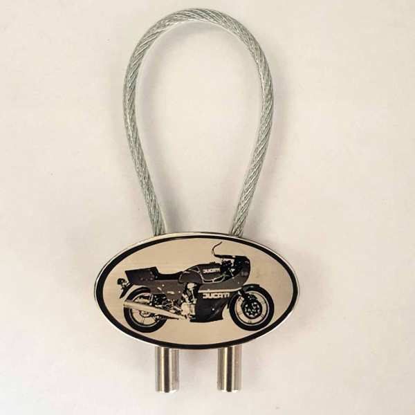 Ducati 900 MHR Motorrad Schlüsselanhänger mit Gravur