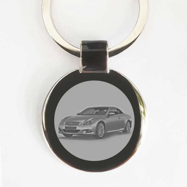 Infiniti Q60 Cabrio Gravur Schlüsselanhänger personalisiert