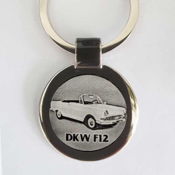 DKW F12 Schlüsselanhänger personalisiert - original Fotogravur