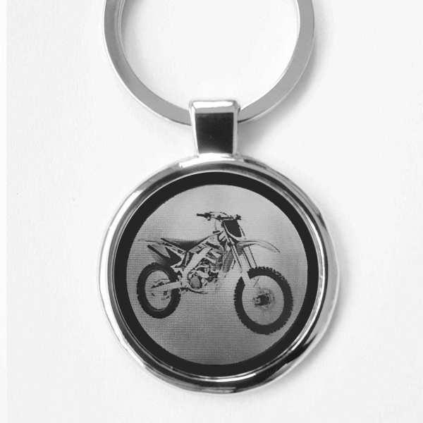 Kawasaki KX250F Motorrad Schlüsselanhänger personalisiert
