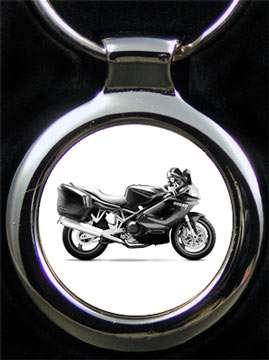 Ducati ST2 Motorrad Schlüsselanhänger mit Textgravur