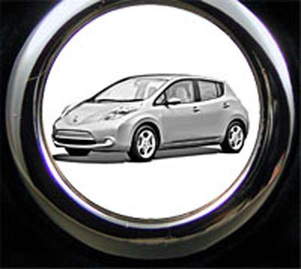 Nissan Leaf Schlüsselanhänger