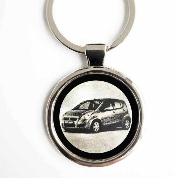 Suzuki Splash Gravur Schlüsselanhänger - original Fotogravur