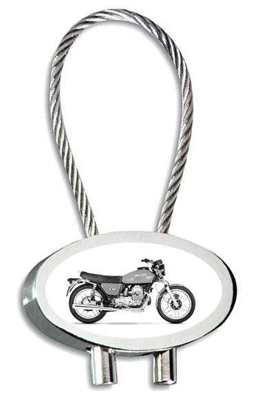 Moto Guzzi V50 Bike Gravur Schlüsselanhänger personalisiert