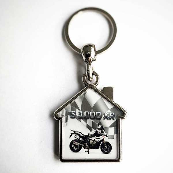 S 1000 XR Schlüsselanhänger personalisiert Haus