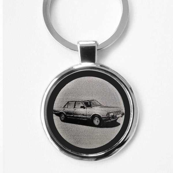 Ford Granada II Gravur Schlüsselanhänger personalisiert - original Fotogravur