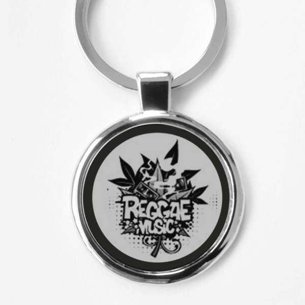 Raggea Music Gravur Schlüsselanhänger personalisiert
