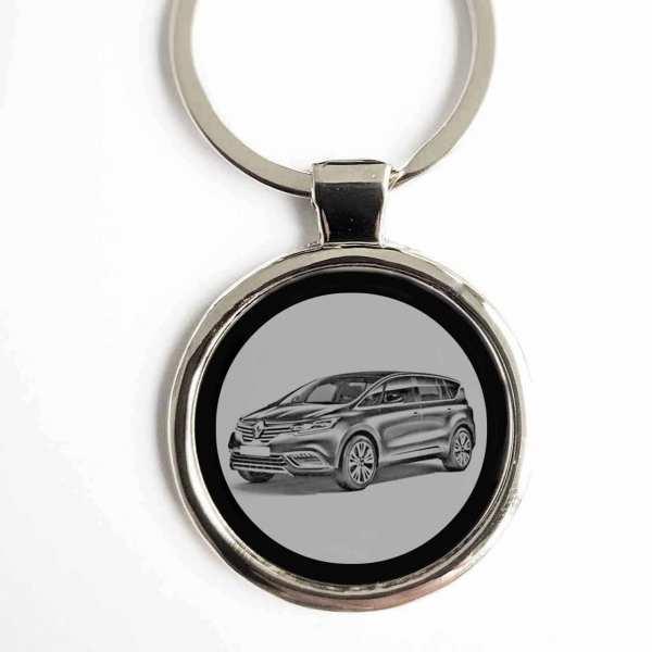 Renault Espace Schlüsselanhänger personalisiert