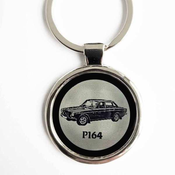 Volvo P164 Gravur Schlüsselanhänger personalisiert - original Fotogravur