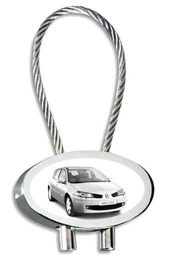 Renault Megane Schlüsselanhänger mit Gravur