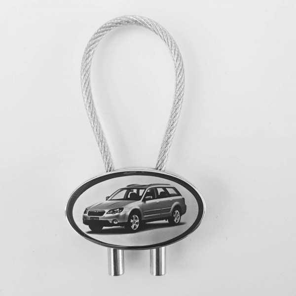 Subaru Outback Schlüsselanhänger personalisiert mit Gravur