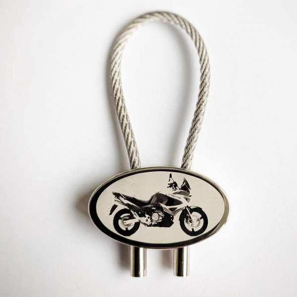 Honda Varadero Gravur Schlüsselanhänger - original Fotogravur