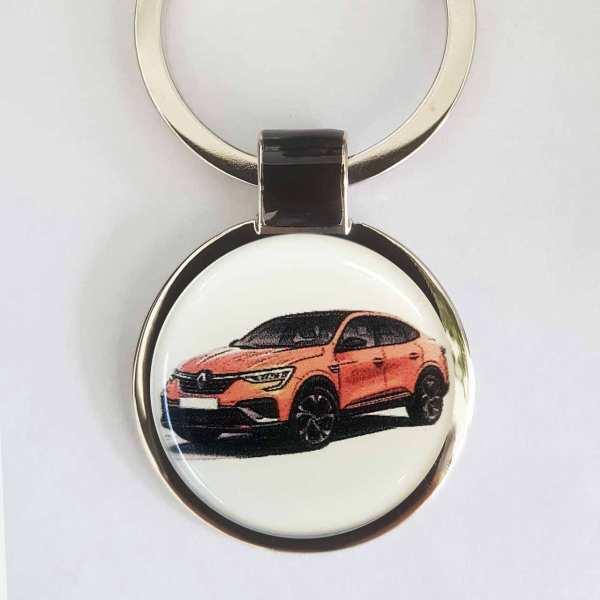 Renault Arkana Foto Schlüsselanhänger personalisiert