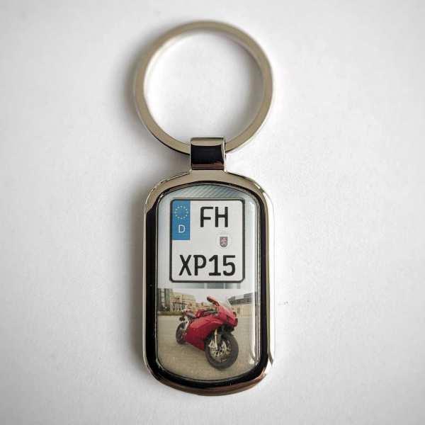 Kennzeichen Schlüsselanhänger personalisiert