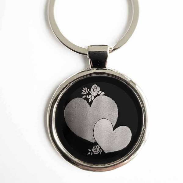 Liebes Herze Gravur Schlüsselanhänger personalisiert