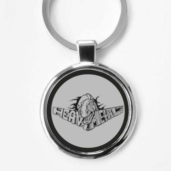 Heavy Metal Gravur Schlüsselanhänger personalisiert