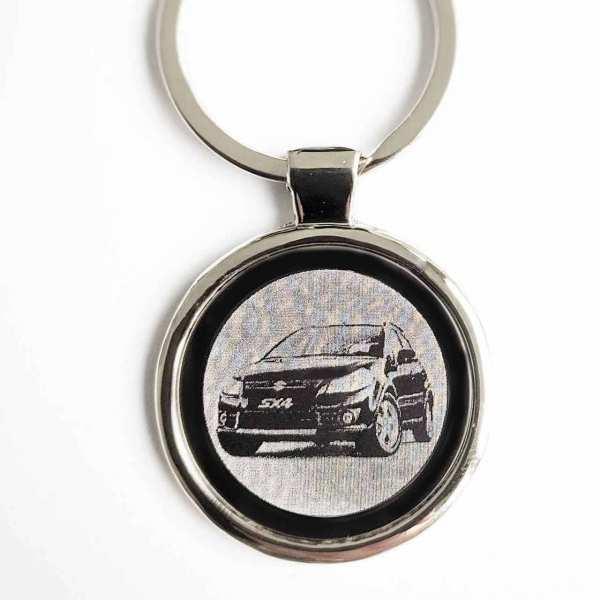 Suzuki SX4 Gravur Schlüsselanhänger
