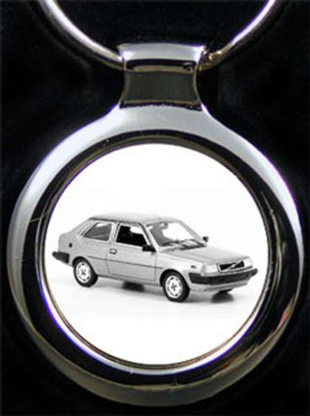 Volvo 360 GLS Schlüsselanhänger personalisiert