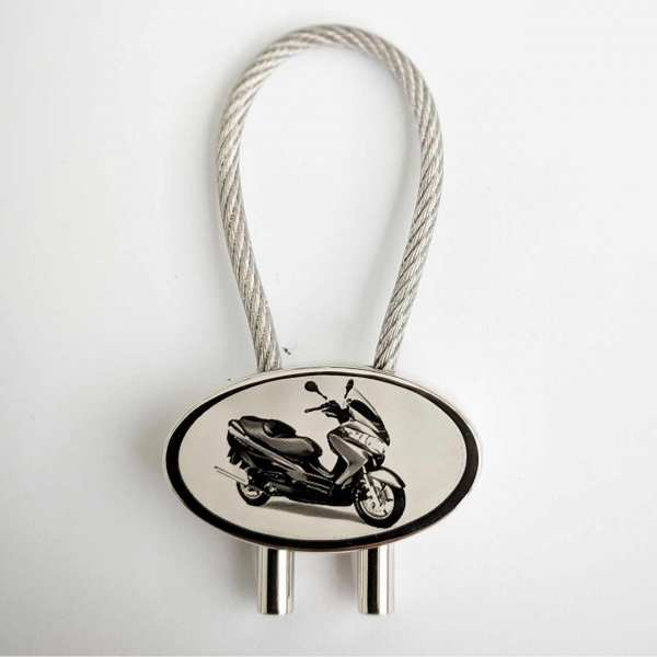 Suzuki Burgman 125/200 Roller Gravur Schlüsselanhänger personalisiert - original Fotogravur