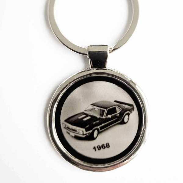 Camaro 1968 Schlüsselanhänger personalisiert - original Fotogravur