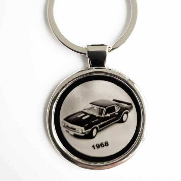 Camaro 1968 Schlüsselanhänger - original Fotogravur