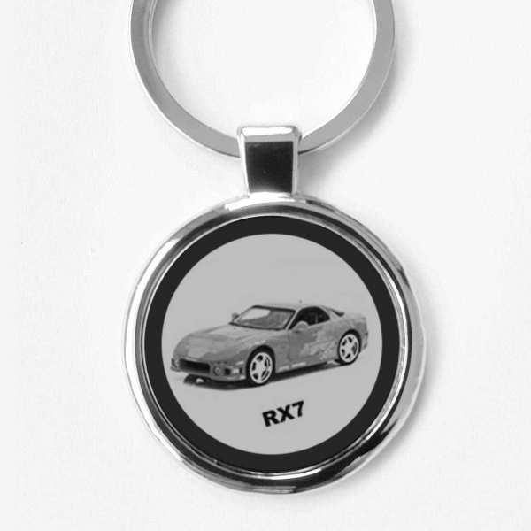 Mazda RX7 Schlüsselanhänger personalisiert